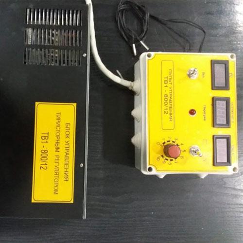 Блок управления тиристорным регулятором TB1-800/12