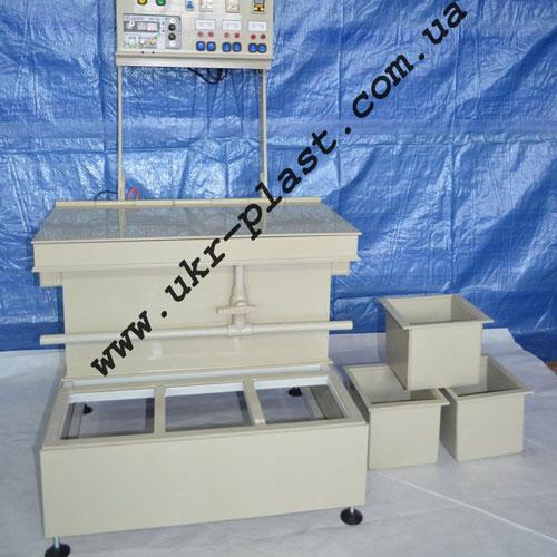 Гальваническая установка настольного типа ГУ-3-10/3-4л