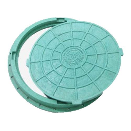 Люк садовый пластиковый 660