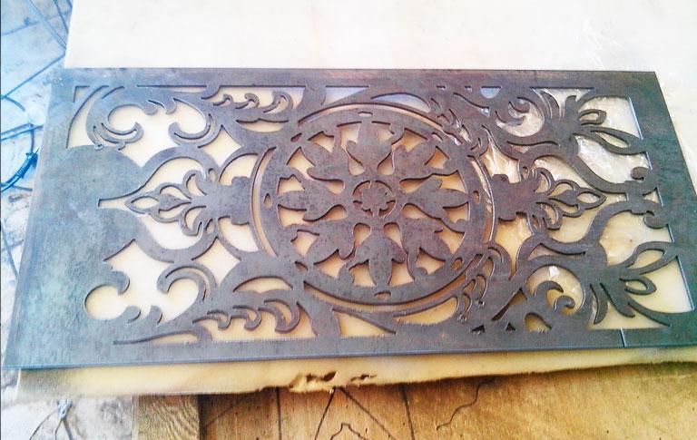 Плазменная резка декоративных изделий из металла